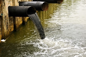 black water as one of the types of water pollution